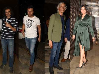 Pics: Celebs attend Sudhir Mishra's bday bash