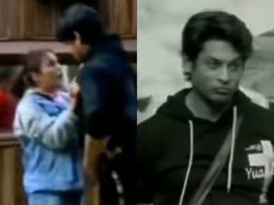 BB13: Shehnaz pushes Sid; says 'I hate you'