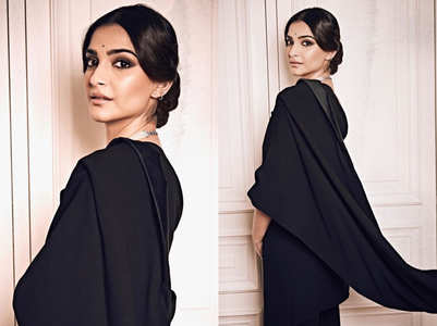 Sonam Kapoor just wore a blazer sari and looked gorgeous!