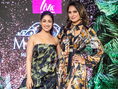 Celebs dazzle at the LIVA MISS DIVA 2020 Red Carpet