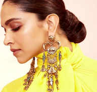 10 gorgeous and luxe earrings of Deepika Padukone that can glam up any outfit