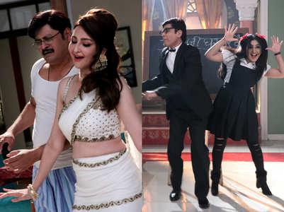 Saumya, Shubhangi's quirky looks for Bhabiji