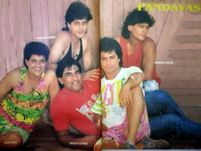 TBT: A pic of the Pandavas from Mahabharat