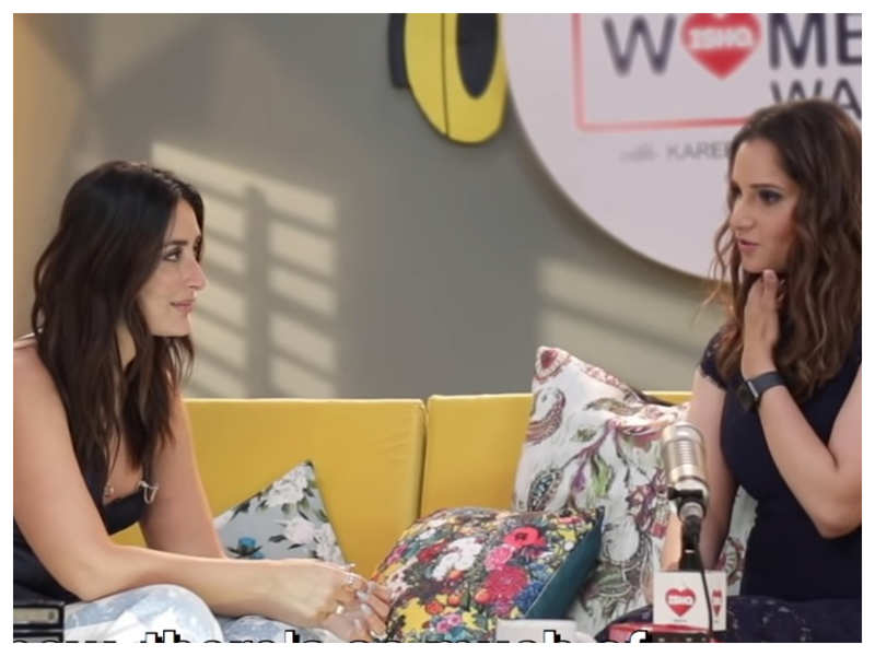 Sania Mirza opens up about her biopic on Kareena Kapoor Khan's chat show