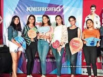 Meet the semi-finalists: (L-R) Arushi Kalia, Anisha Bhati, Kuhu Bawa, Rupansi Arora, Sheetal Chauhan and Rituparna Borah