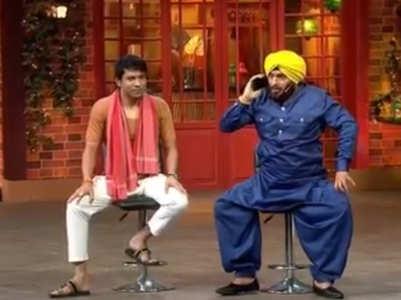 Kapil mimics Navjot Singh Sidhu; watch