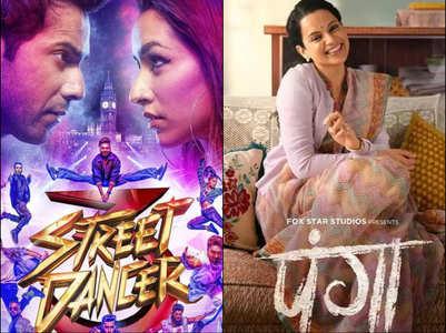 'Street Dancer' starts better than 'Panga'
