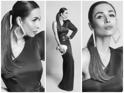 Malaika Arora amps up the glam quotient