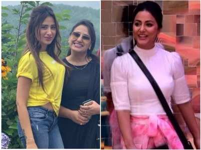 BB13's Mahira's mom is miffed with Hina Khan