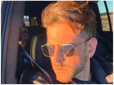 Hrithik Roshan shares a sun-kissed photo
