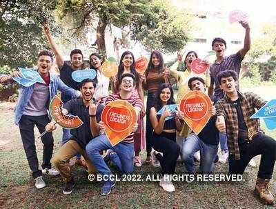 THE FUN BUNCH: (Standing, L-R) Parth Billawria, Zaid Khan, Khushi Rai, Arushi Madan, Chetna Arora, Madhavi Bharadwaj and Rohan Shreshtha; (Sitting, L-R) Ayush Koul, Pranshu Sharma, Shriya Tyagi, Puneet Sharma and Shlok Sahni