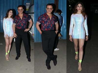 Pics: Saif-Alaya make super stylish appearance