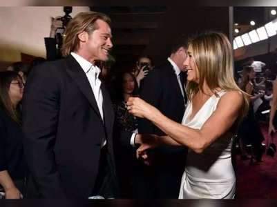 Brad reacts to reunion with Jennifer at SAG