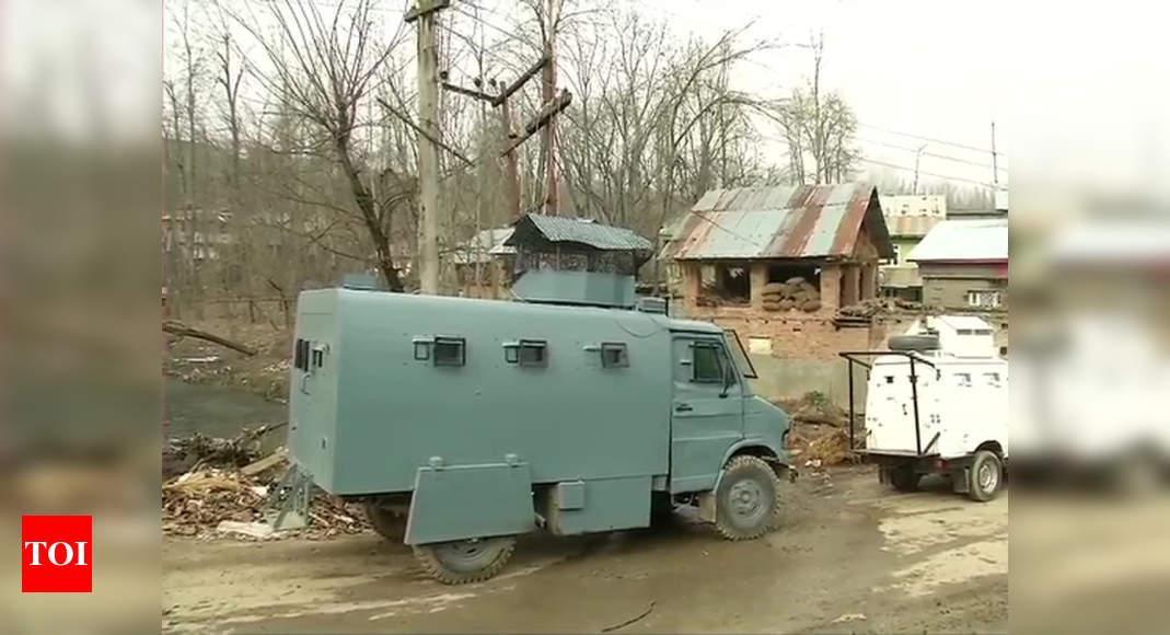 Awantipora encounter: Security forces kill 2 terrorists