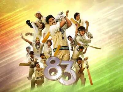 Watch: Ranveer Singh unveils '83 poster