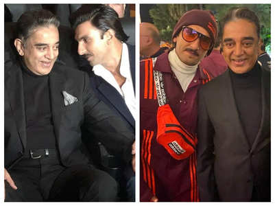Ranveer Singh bonds with Kamal Haasan