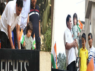 Taimur Ali Khan celebrates Republic Day