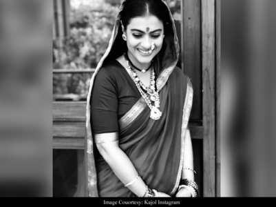 Kajol shares first look test of 'Tanhaji'