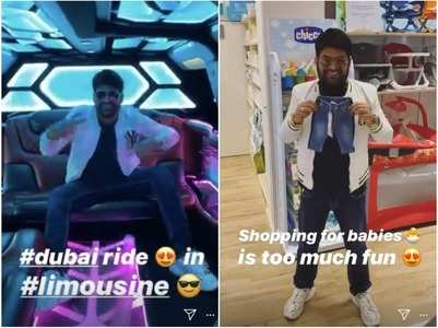 Kapil Sharma is living life king size in Dubai