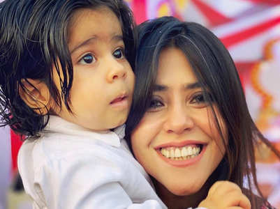 Ekta Kapoor reveals the face of son Ravie