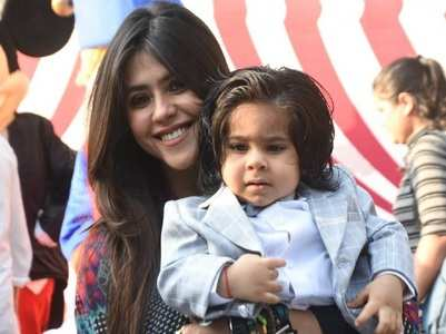 Ekta Kapoor says 'being a mother was not easy'