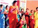 Cultural program takes centre stage at haldi-kumkum event