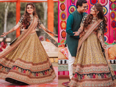 This Dr wore the most gorgeous jharokha lehenga