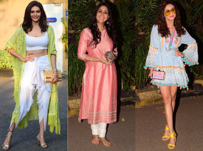 Who Wore What at Ekta Kapoor's son's bash