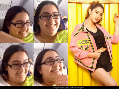 Check out this unseen video of Sara Ali Khan
