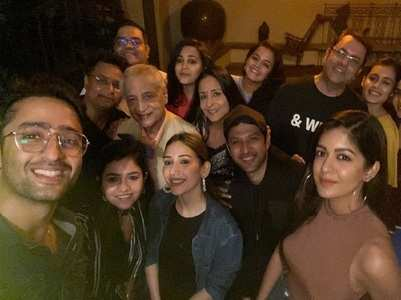 Shaheer throws a bash for YRHPK co-stars