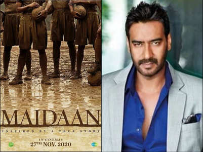 'Maidaan': New teaser poster of Ajay's film