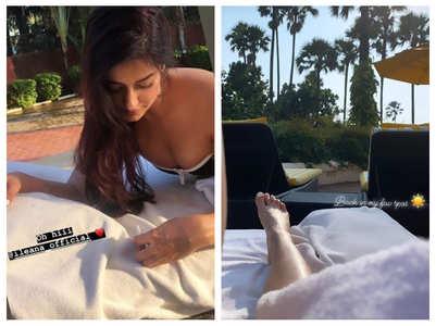 PICS: Ileana D'Cruz soaks up the sun
