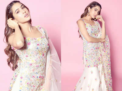 Sara Ali Khan's pretty sharara is perfect for your bestie's Nikah