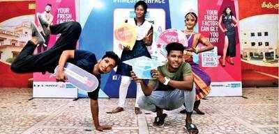 (Clockwise): Ramesh Singh, Madhumitha R, Jaisree B and Rishi Kumar