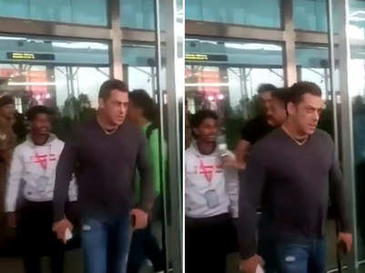 Watch: Salman snatches phone away from fan