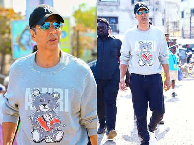 You can 6 basic smartphones for the price of Akshay Kumar's expensive teddy print sweatshirt