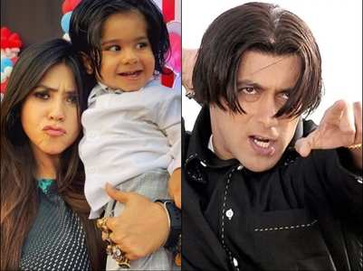 Ekta Kapoor shares son Ravie's cute photo