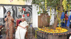 Sugathakumari teacher's 86th birthday