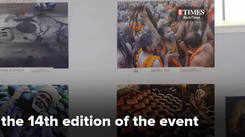 All India photo expo at Edappally Metro Station