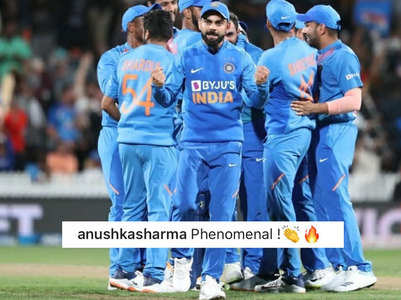 Anushka is proud of hubby Virat & team India