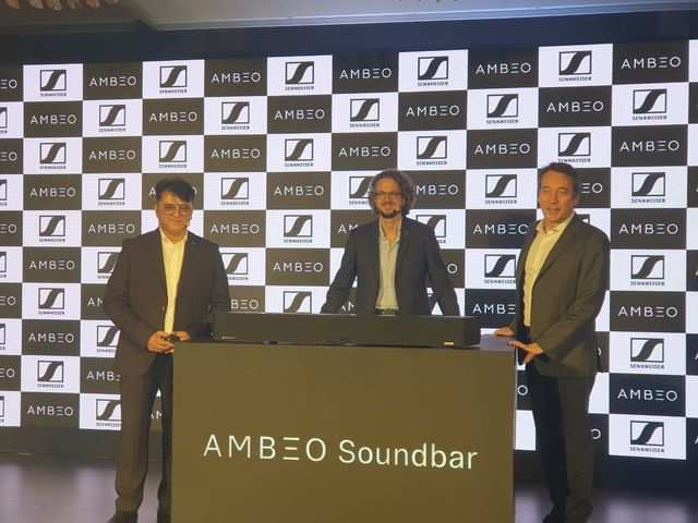Sennheiser launches Ambeo soundbar in India for Rs 1,99,990