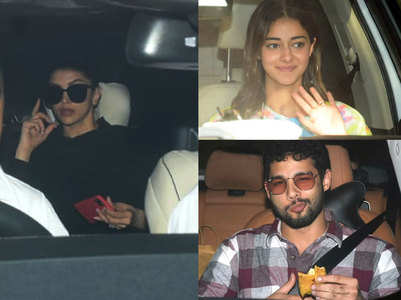 Pics: Deepika begins work with Sid, Ananya