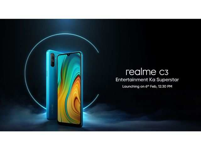 Realme C3 to launch on February 6, gets listed on Flipkart