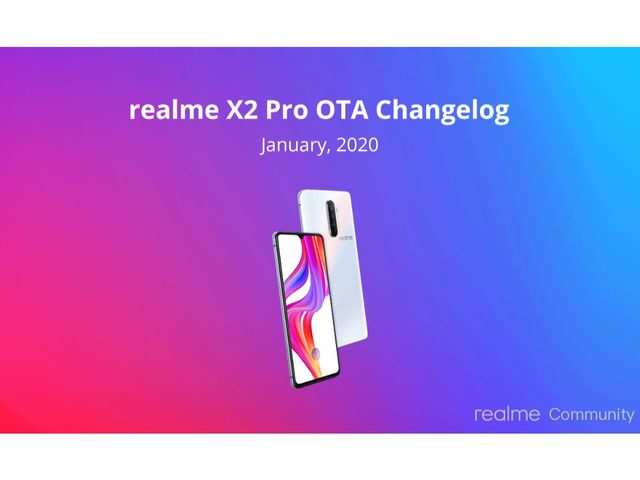 Realme X2 Pro gets latest update, here's what it includes