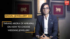 Tarang Arora on how to choose wedding jewellery