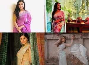 From Esha Kansara to Pooja Jhaveri: FIVE Dhollywood stars who nail their look in sarees