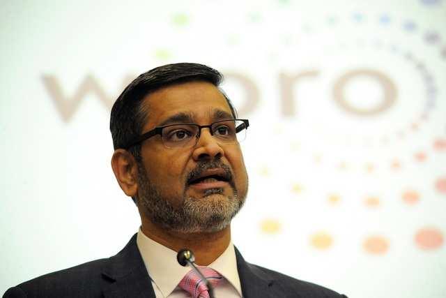 Wipro CEO Abidali Neemuchwala (File photo)