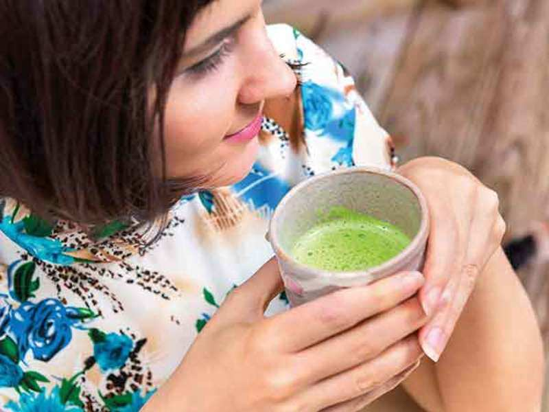 Matcha, the slightly bitter powdered green tea, is becoming increasingly popular