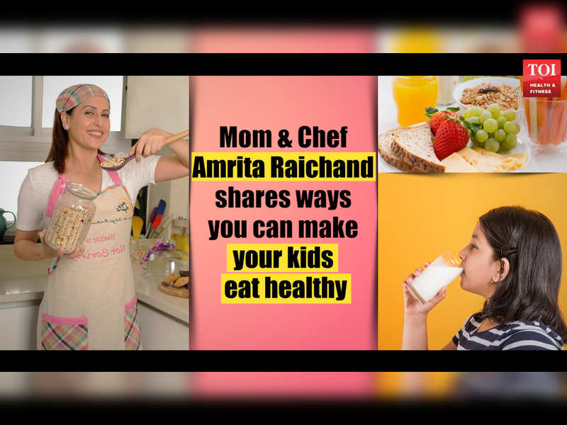 VIDEO: Mom and Chef Amrita Raichand shares ways you can make your kids eat healthy