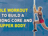 VIDEO: Pole workout to build a strong core and upper body